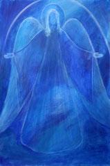 """Engel, Seite 20,  im Buch """"Meine liebsten Engelbilder"""" von Annelie Staudt"""
