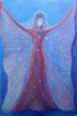 """Engel, Seite 14,  im Buch """"Meine liebsten Engelbilder"""" von Annelie Staudt"""