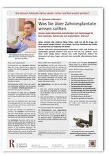 Patienteninfos Zahn-Implantate Zahnarzt Frankfurt-Niederrad