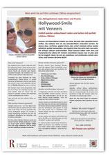 Merkblatt Veneers Zahnarzt Frankfurt-Niederrad