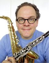Michael Walter – Klarinette, Saxophon, Projektblasorchester