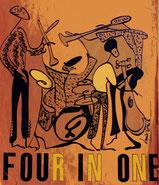 le quartet joue un chorus de Thelonious MONK