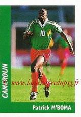 N° 113 - Patrick M'BOMA (1994-97, PSG > 1998, Cameroun)