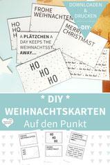 Weihnachtskarten basteln, Weihnachtsgrüße, Weihnachtskarten drucken, Grußkarten Weihnachten, Weihnachtskarten selber gestalten, Weihnachtsgrußkarten, Weihnachtskarten selber basteln, Weihnachtskarten gestalten, Weihnachtskarten selber machen, diy, Punkte