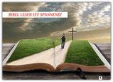 Bibel lesen ist spannend, Schaukasten-Poster