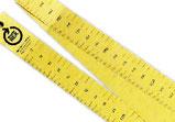 【ノベルティ×リサイクル】 1mのオリジナル紙スケール。好きな長さでカットして使えます。