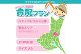 【合配プラン×美容室 】店舗近くの茨大を中心に配布。サイズA5・15,000部
