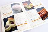 【パンフレット×商店街】 イベントに出店したお店の紹介カタログとして作成致しました。