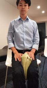 腰痛と尿漏れに悩む奈良県大和高田市の男性