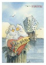 Entrich, Möwen, Hamburg,Köln,Karten, Postkarten, Meer, Norden, Osten, See