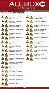 Allplan Brandschutz Warnzeichen