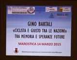 Benedizione Società e Cerimonia Gino Bartali 14-3-2015