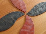 和菓子皿「木の葉」