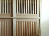 檜の食器棚
