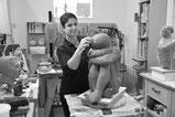 Alexandra Kapogianni-Beth, Bildhauerin und Künstlerin