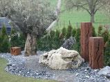, Amriswl, Galerien, Garten, Gartengestaltung, Lorandi, Steingarten, Naturstein