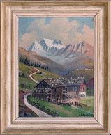 Am Strela Pass, Weissfluh