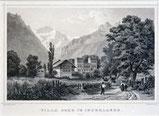 Interlaken, Villa Ober um 1865
