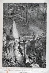 Pont sur le chemin de Weggis aux Bains Froids