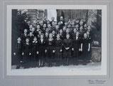 Konfirmandengruppe Kirche Gsteig Wilderswil 1942