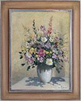 Blumenbouquet in Vase
