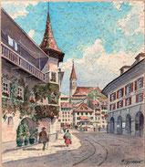 Thun, Altstadt mit Stadtkirche