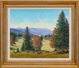 Jura Landschaft (gemalt 1985)