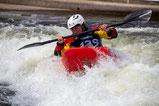 Isabelle Völkel bei der Deutschen Meisterschaft 2018 in Augsburg, Foto: Rüdiger Hauser