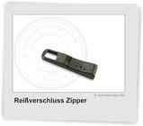 Reißverschluss-Zipper-mit-Logo, Reissverschluss-Zipper mit Logo