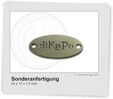 Logoplakette-für-Mützen, Logoplättchen-für-Mützen, Logoanhänger für Mützen