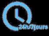 Intervention d'urgence 24h/24 - 7 jours sur 7