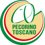 organic pecorino cheese from organic sheep's milk 20 days of ripening aged on wooden planks label logo tuscany pdo tuscany italy maremma