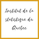 Lien vers ISQ Institut de la statistique du Québec sur l'Académie des Autonomes
