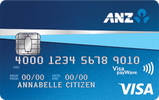 ANZ VISA デビットカード
