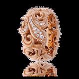 Ring in Rotgold mit Brillanten aus der Lilly Rose Kollektion der Goldschmiede OBSESSION Zürich und Wetzikon