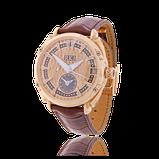 Armbanduhr in Weissgold mit Saphiren von der Goldschmiede OBSESSION