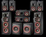 Комплект мощной акустики для домашнего кинотеатра Cervin-Vega!