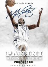 MICHAEL FINLEY / Panini Signatures - No. 484  (#d 1/10)