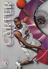VINCE CARTER / Rookie card - No. 89