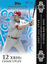 CHASE UTLEY / Moments & Milestones - No. 60  (#d 9/10) !!! 4€ !!!