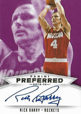 RICK BARRY / Preferred Signatures - No. 503  (#d 6/10)