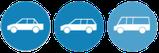 Transport mit Kleinwagen möglich