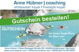 Gutschein für einen Kajakkurs mit Anne Hübner bestellen!