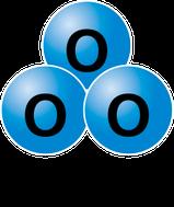 オゾン(O₃)イメージ