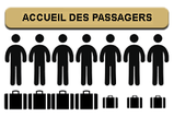 de 1 à 7 places, bagages encombrants