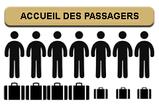 de 1 à 7 places, bagages encombrants