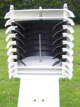 ventilation d'un abri météo pour protéger vos mesures - Agralis- Aquitaine