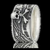Schatzkarten Ring in Silber mit Schädel aus der Schatzkarten Kollektion von der Goldschmiede OBSESSION in Wetzikon und Zürich