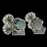 Manschettenknöpfe in Silber mit Tahitiperlen aus dem Atelier der Goldschmiede OBSESSION in Wetzikon und Zürich