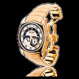 Herrenuhr von Roger Debuis mit einem Armband in Rotgold von der Goldschmiede OBSESSION